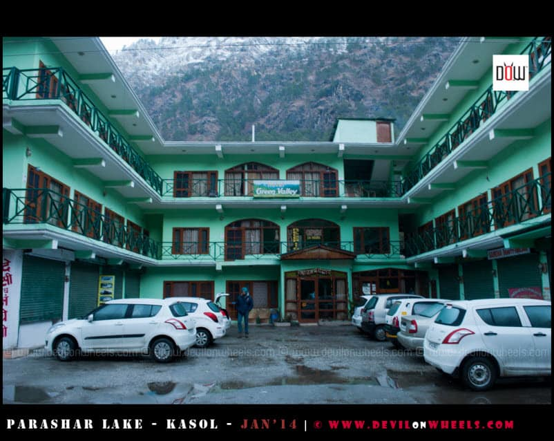 Green Valley Hotel - Kasol