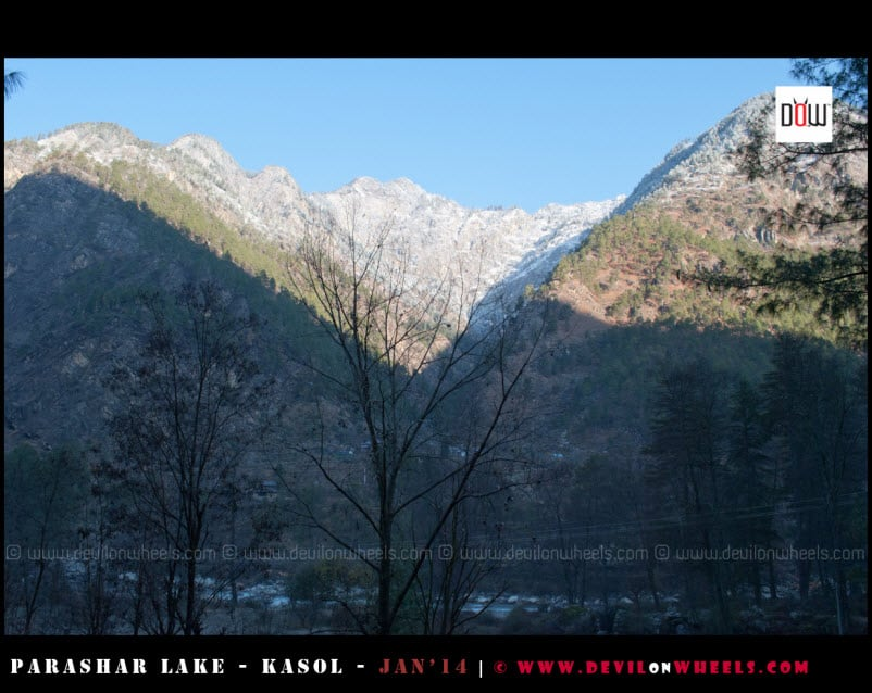 Last views of Paravati Valley