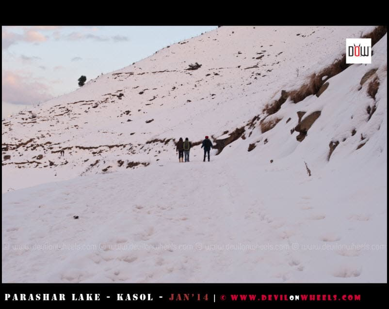A Snow Filled Walk to Prashar Lake