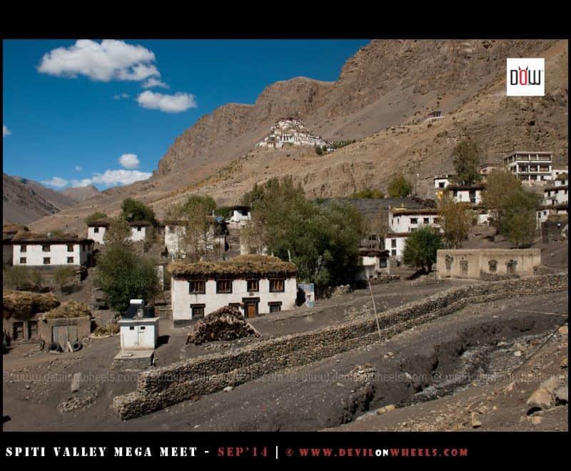 Key Monastery and Key Village