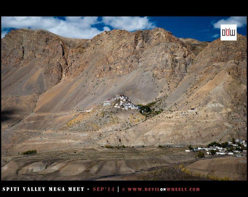 Key Monastery as seen from Rangrik