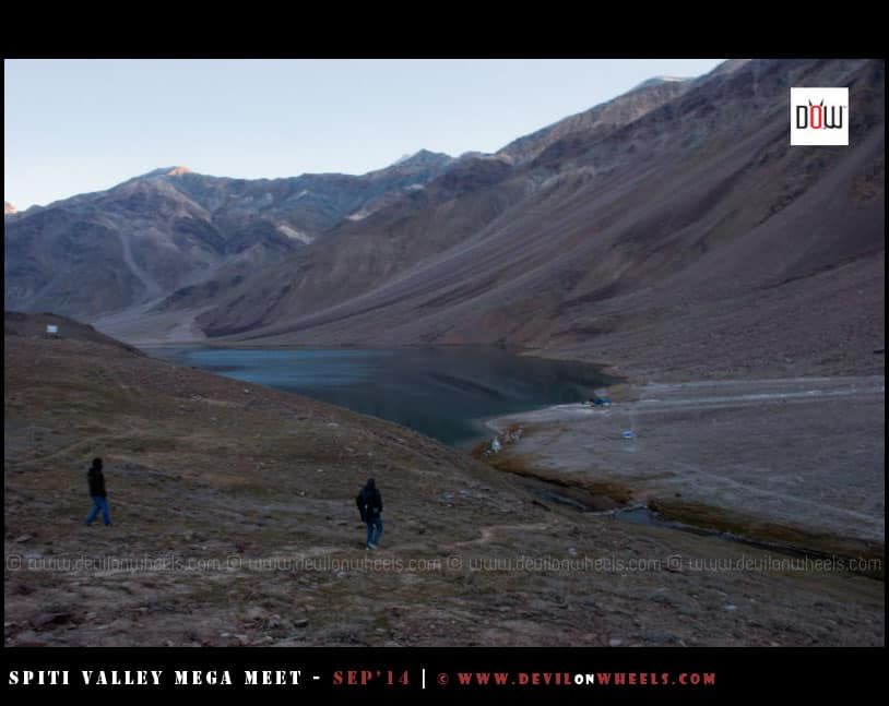 Chandratal Lake - First View