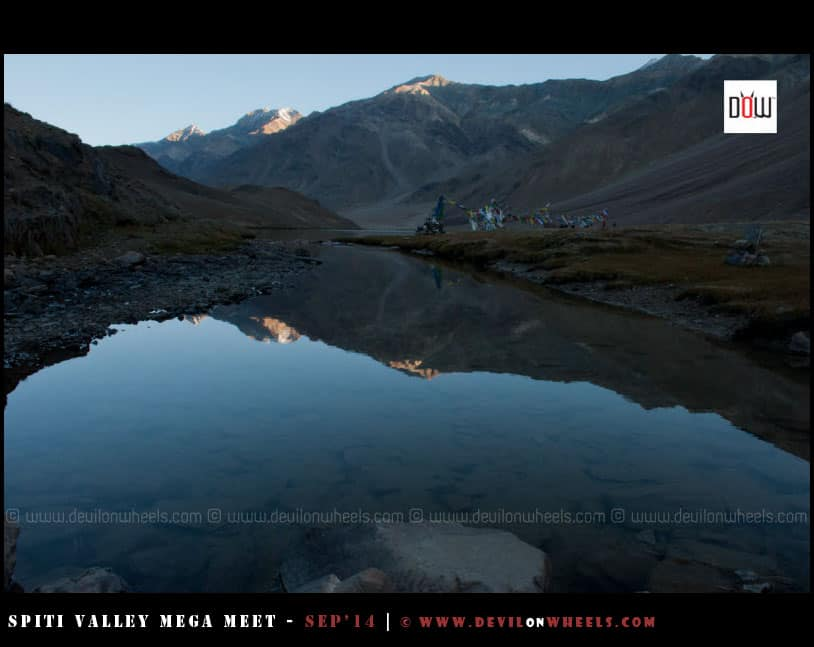 Reflecting the nature - Chandratal Lake