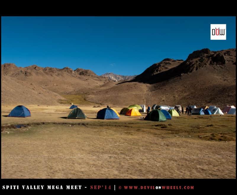 Camping at Chandratal