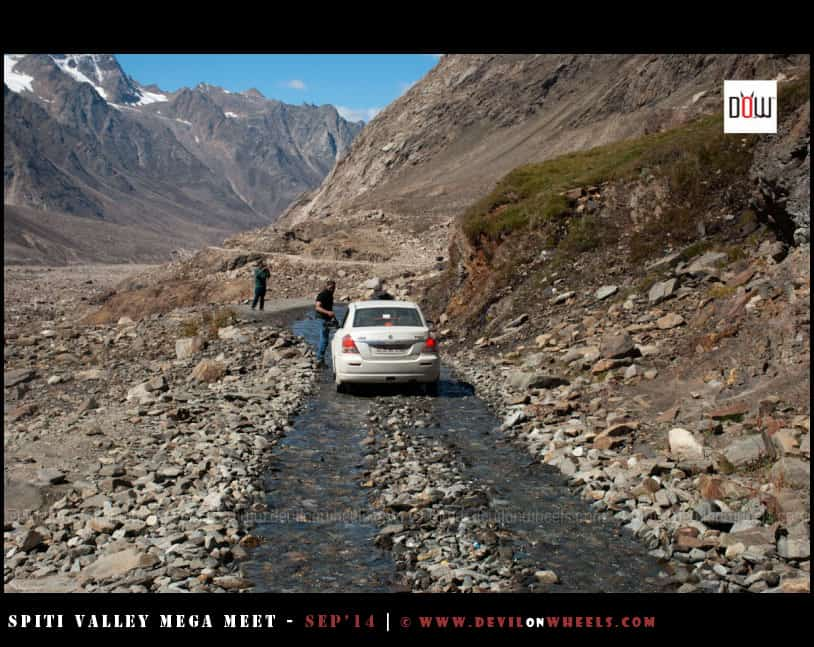 Little hiccups, Spiti Valley from Manali