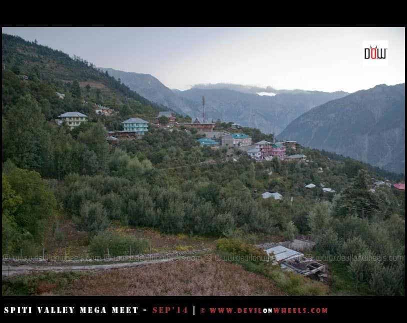 That early fresh morning at Kalpa