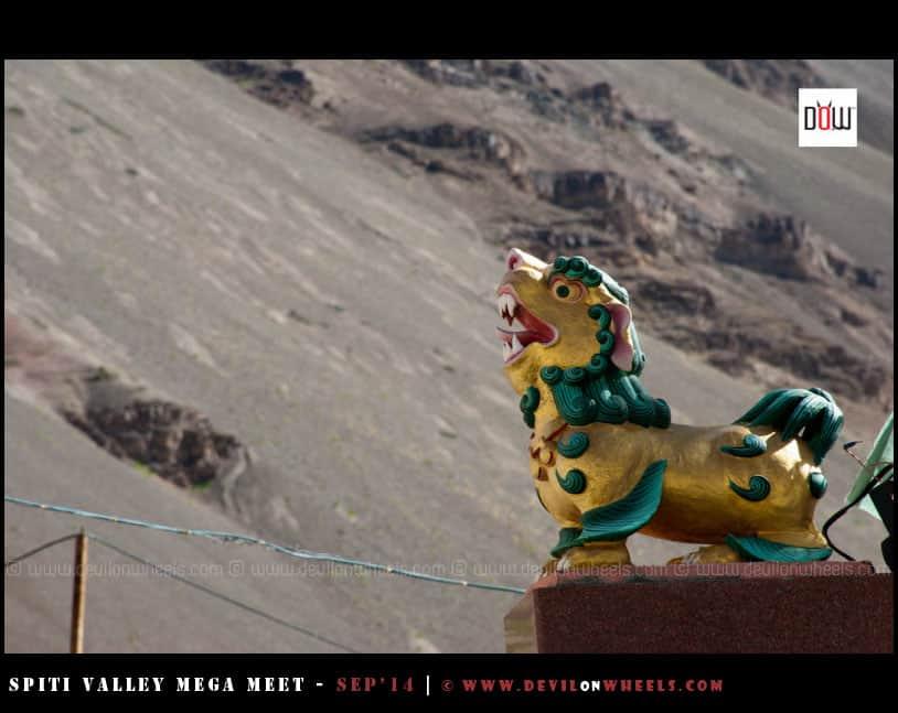 That roar from Tabo Monastery