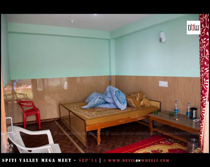 Rooms at Kunzum Guest House Tabo