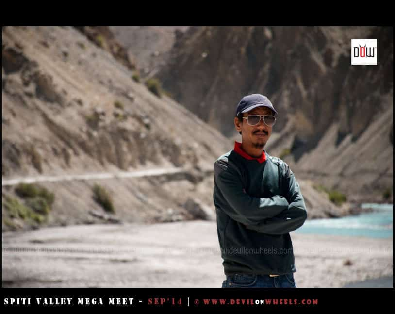 Nawang bhai, who kept with us in all these 6 days of Spiti