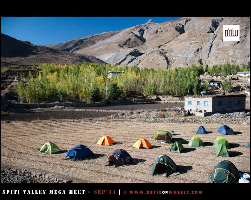 Our Campsite and Homestay of Sonam ji at Mane Gongma Village