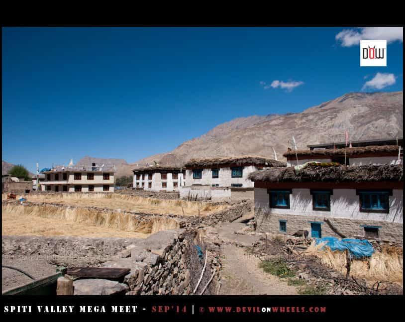 A walk in the Mane Gongma Village