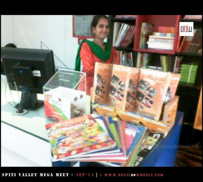 Thanks to The Browser - Chandigarh for donating books for DoW Cause for schools in Spiti Valley