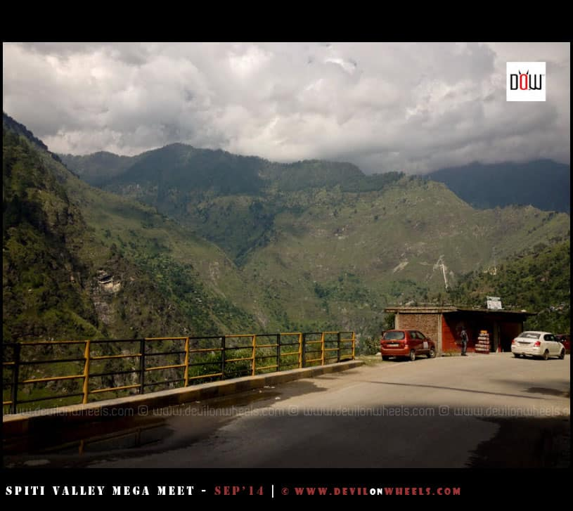 The Dark Clouds over Kinnaur Valley