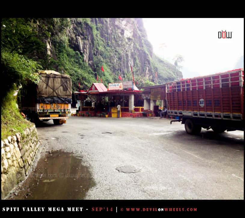 Tranda Mata Temple in Kinnaur Valley