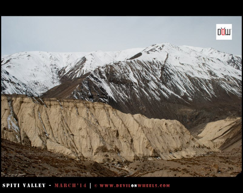 Something similar to moonland of Ladakh but in Spiti