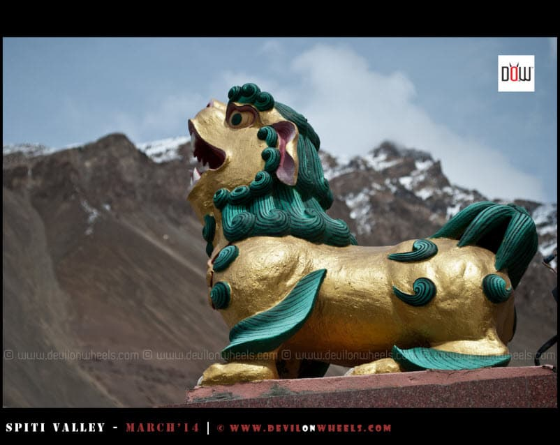 The Roar from Tabo Monastery