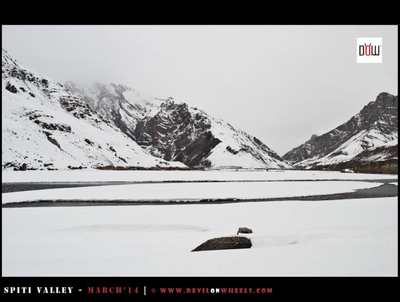 Snow Filled Views between Kaza and Tabo