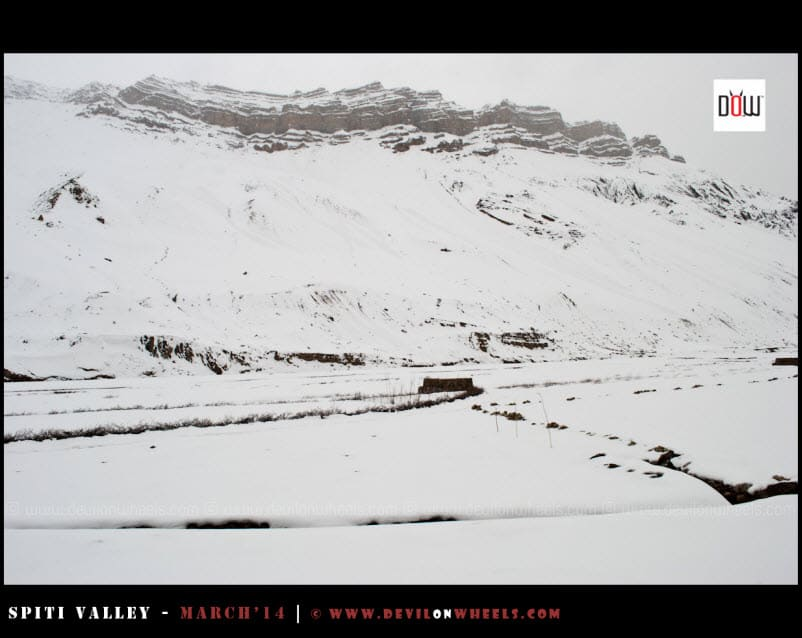 More Snow Filled Views between Kaza and Tabo