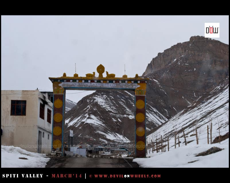 Welcome to Kaza - Spiti Valley