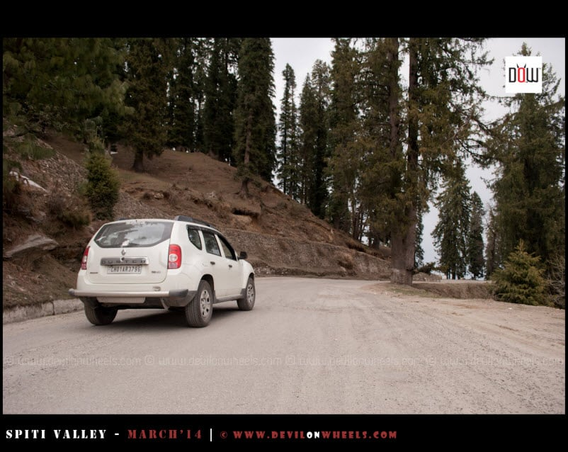That's our ride to Frozen White Spiti Valley