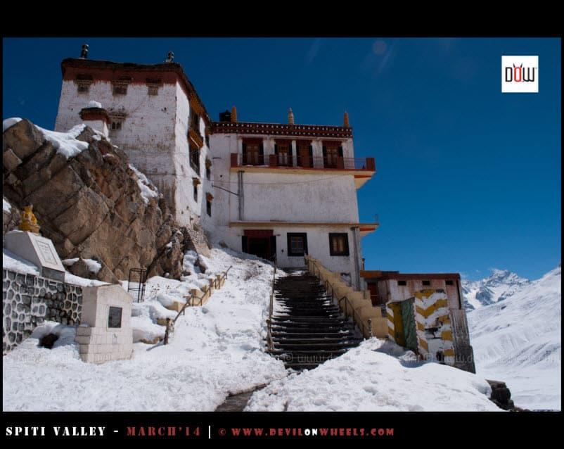 Key Monastery Entrance