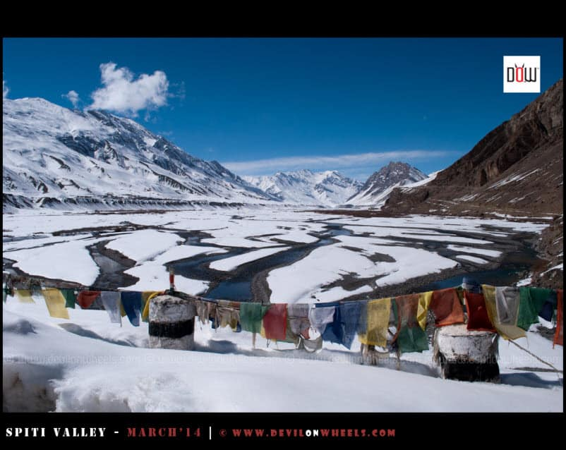 That Chill from Kaza – Spiti Valley in Winters