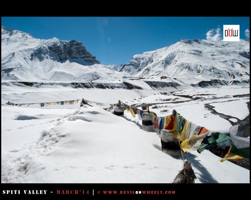 The Frozen Moments from Kaza