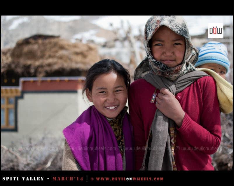 Precious Smiles in Lhalung Village