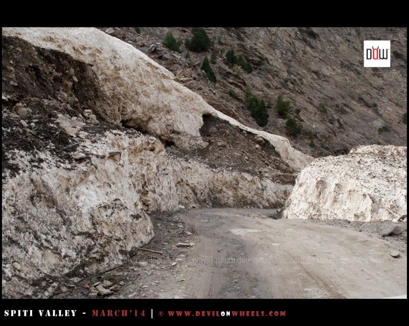 A fallen glacier near Moorang