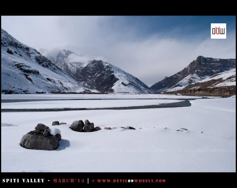Breathtaking views of Spiti in Winters