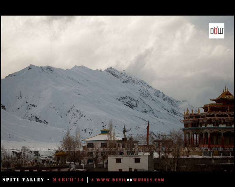 As weather clears up in Kaza in evening