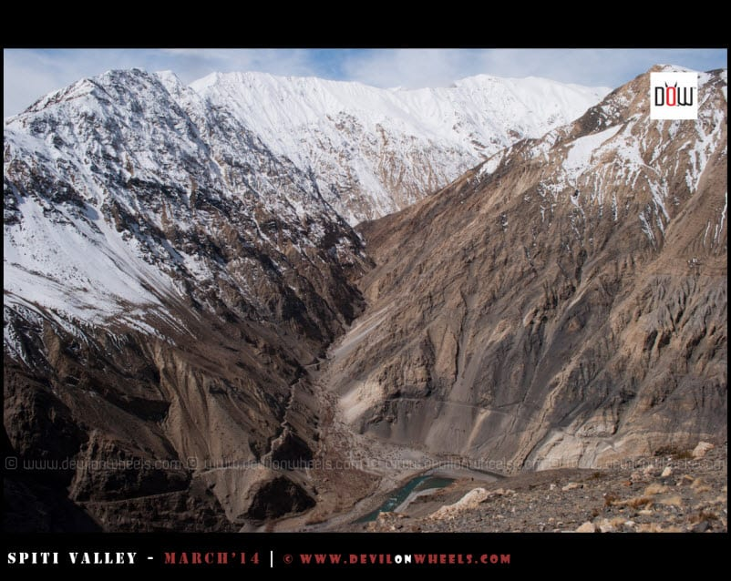The views as you see in Kinnaur near Nako - Maling Road