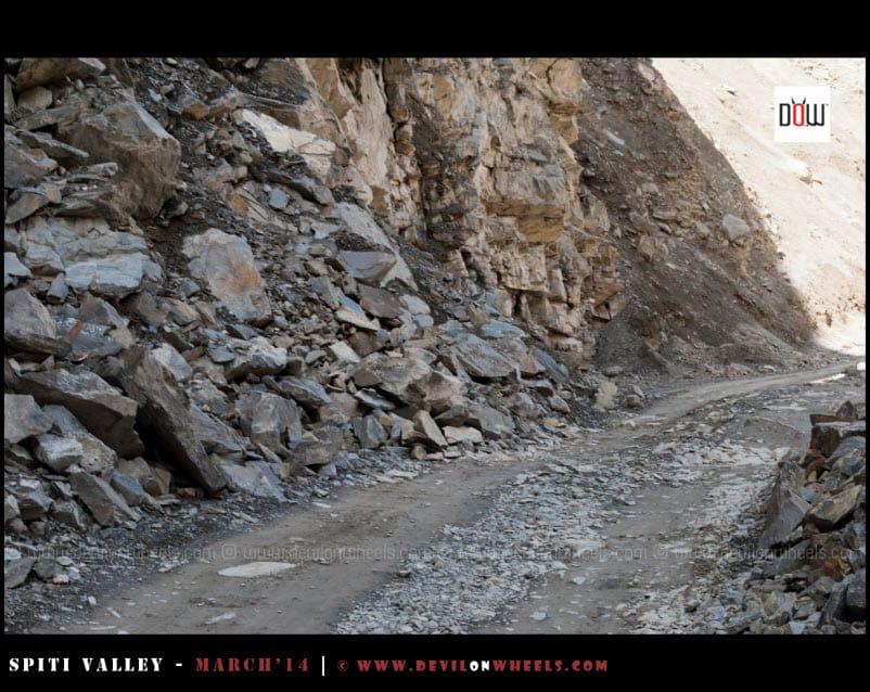 The bad roads of Kinnaur