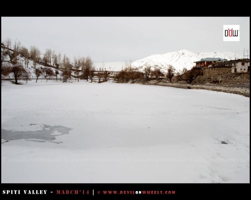 The Frozen Nako Lake - First Sight