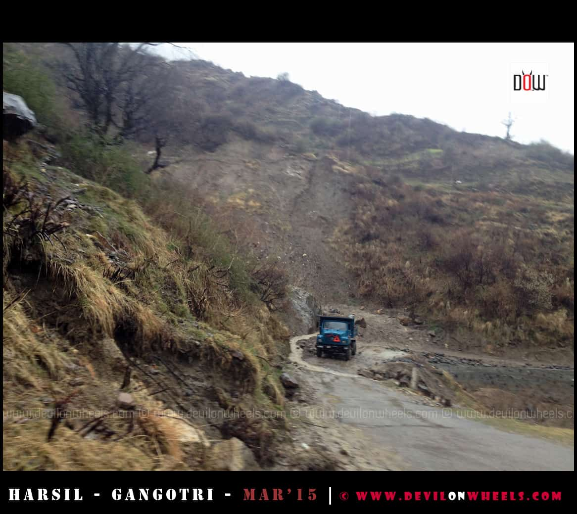 The Roads to Harsil - Gangotri