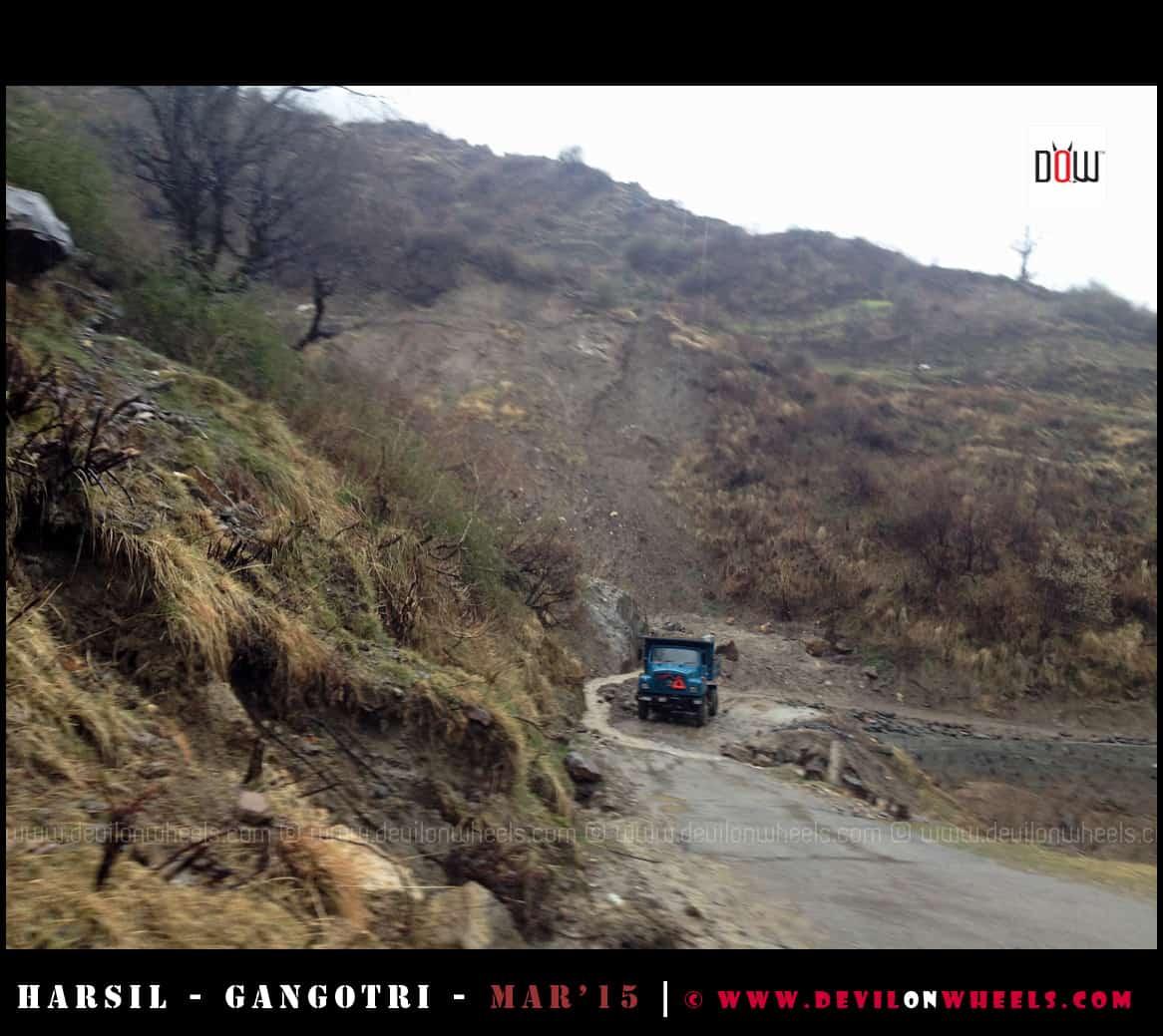 The Roads to Harsil - Gangotri