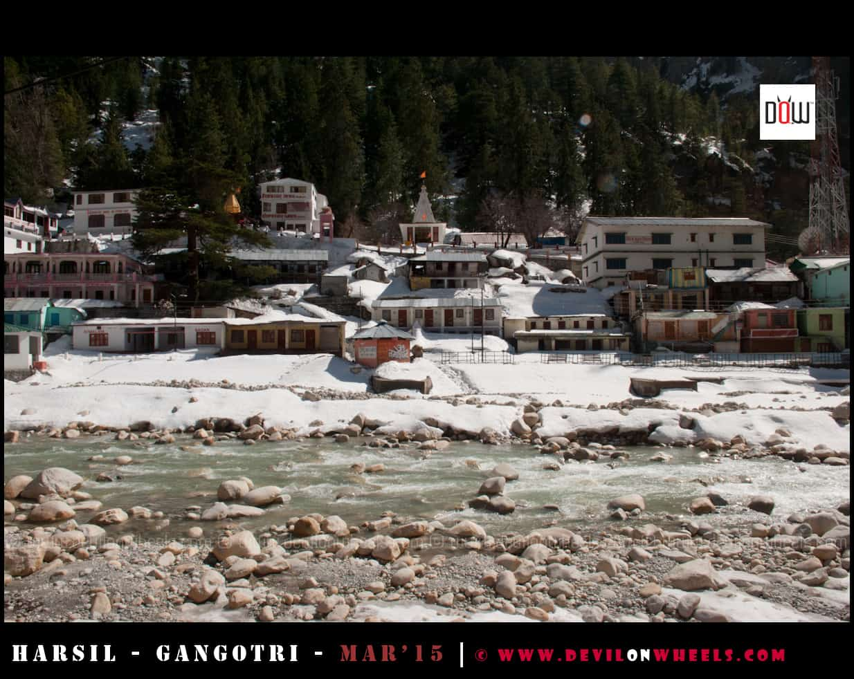 Snow Filled Gangotri