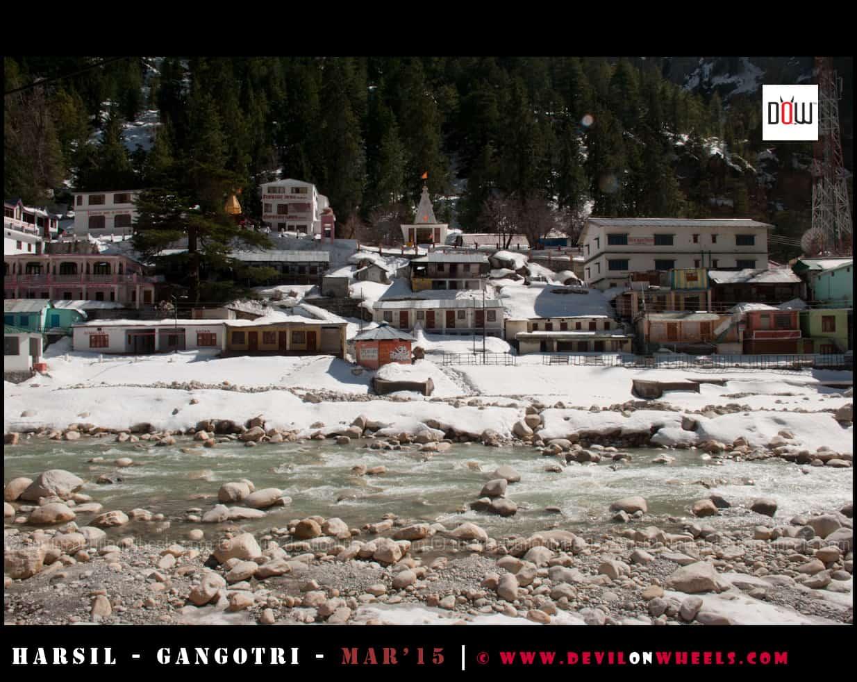 Snow Filled Gangotri