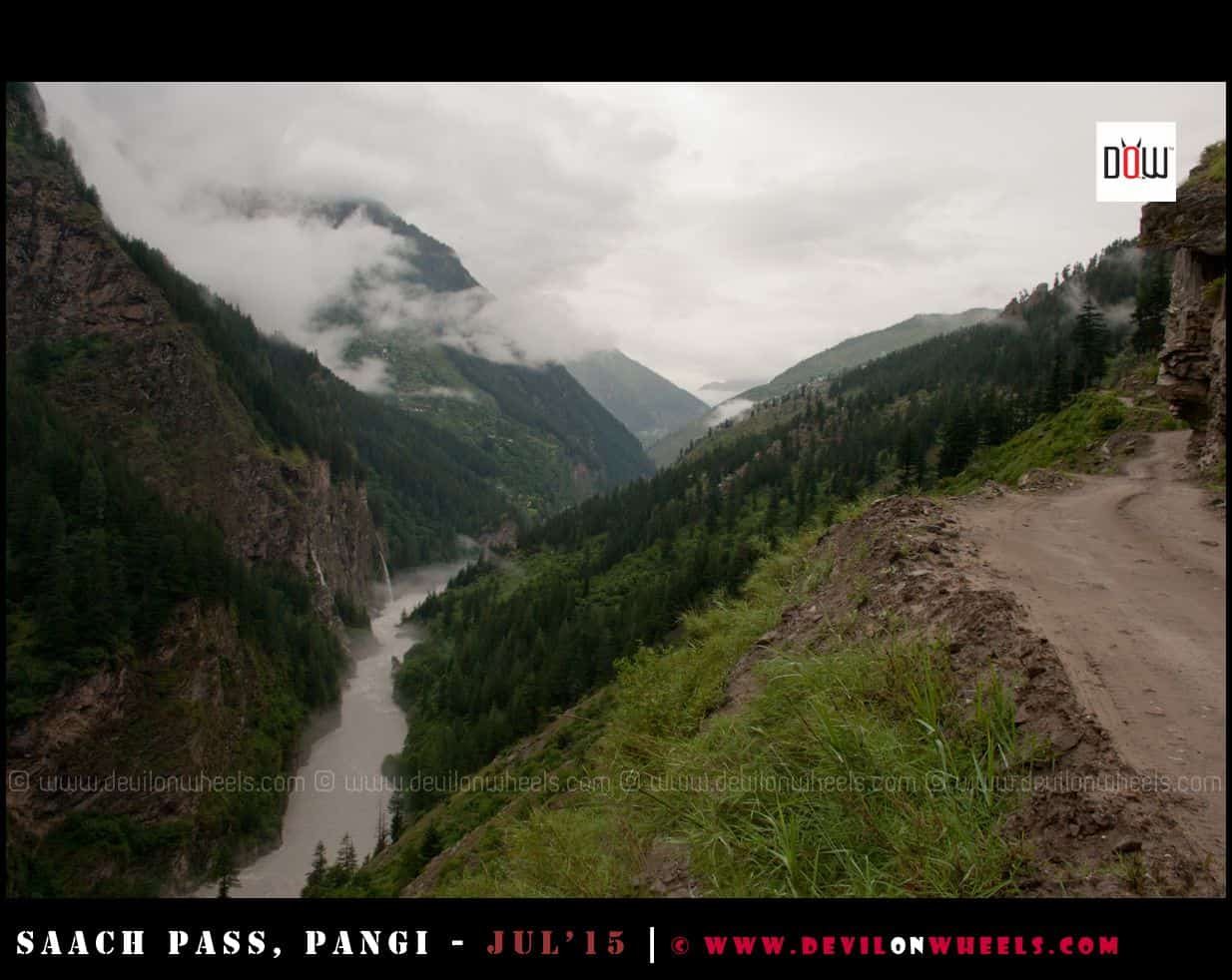 Amazing weather in Pangi Valley