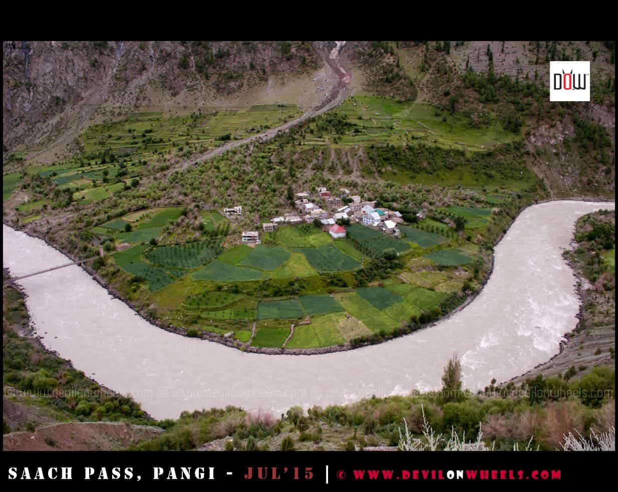 An amazingly beautiful village in Lahaul Valley