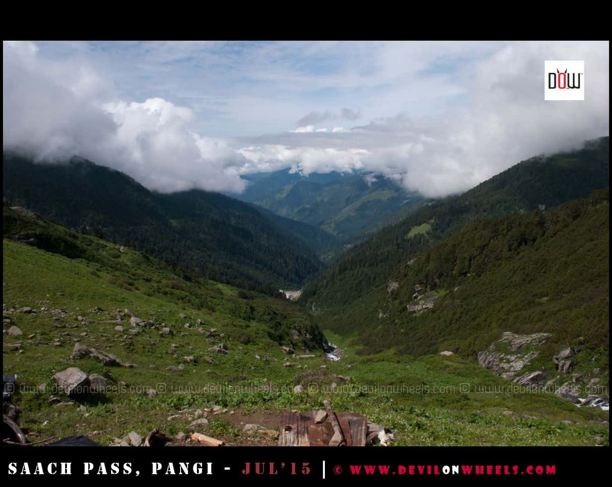 That amazing valley view from Satrundi