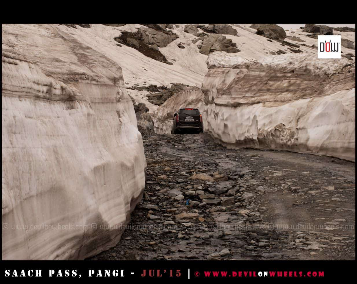Horrors of Road to Sach Pass