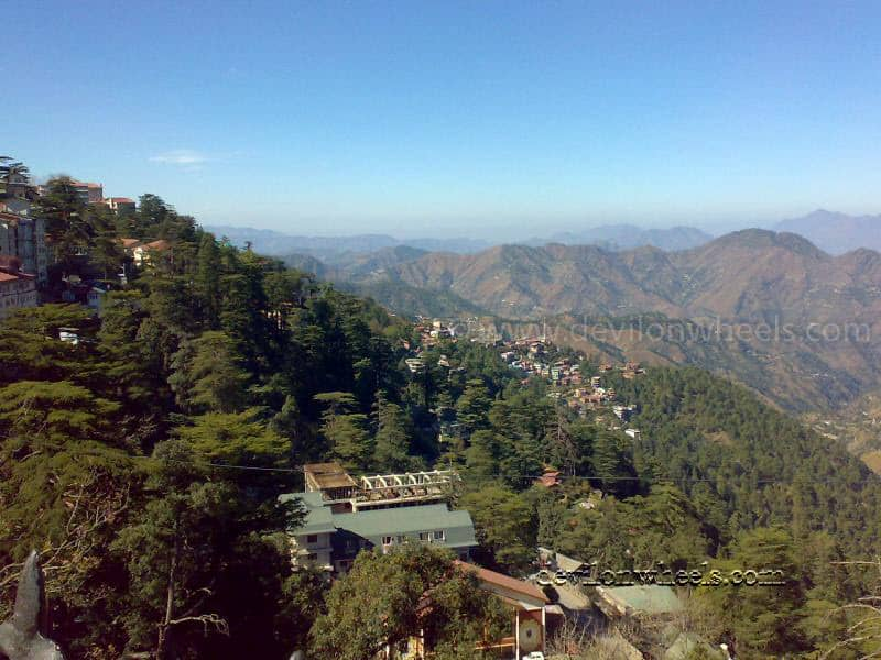Views from Shimla