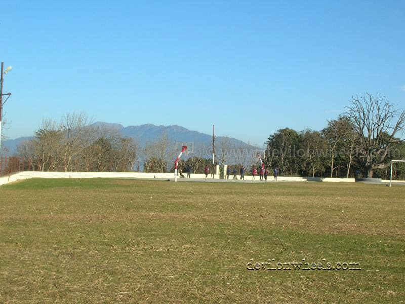 Cricket Ground at Chail