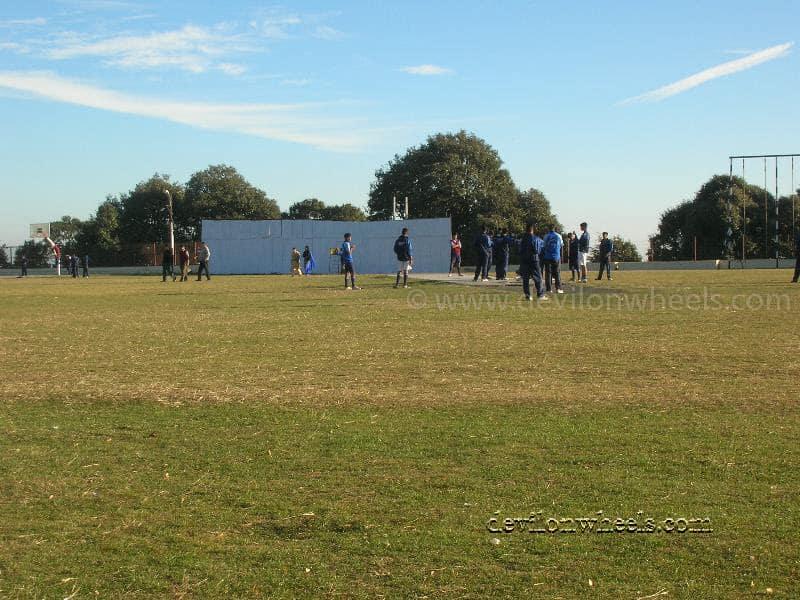Cricket Ground at Chail