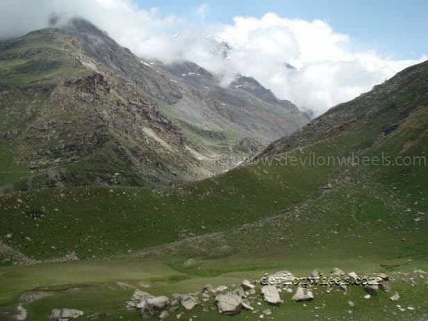Views between Battal and Rohtang Pass