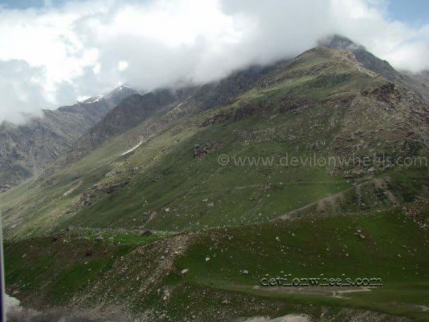 Views between Battal and Rohtang Pass