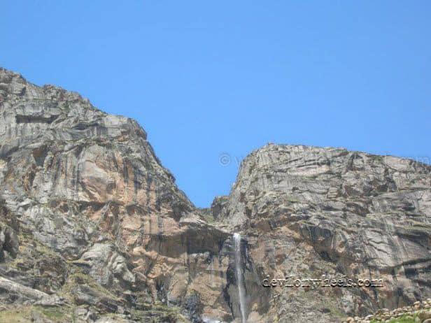 A waterfall at Chattru