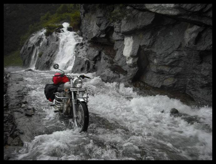 The biggest and longest water crossing after Sach Pass