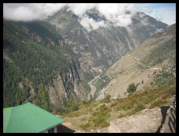 Killar a big town in Pangi Valley